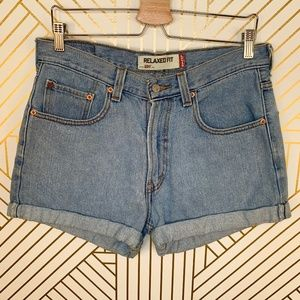 Levi's Vintage 550 Relaxed Fit High Waist Shorts